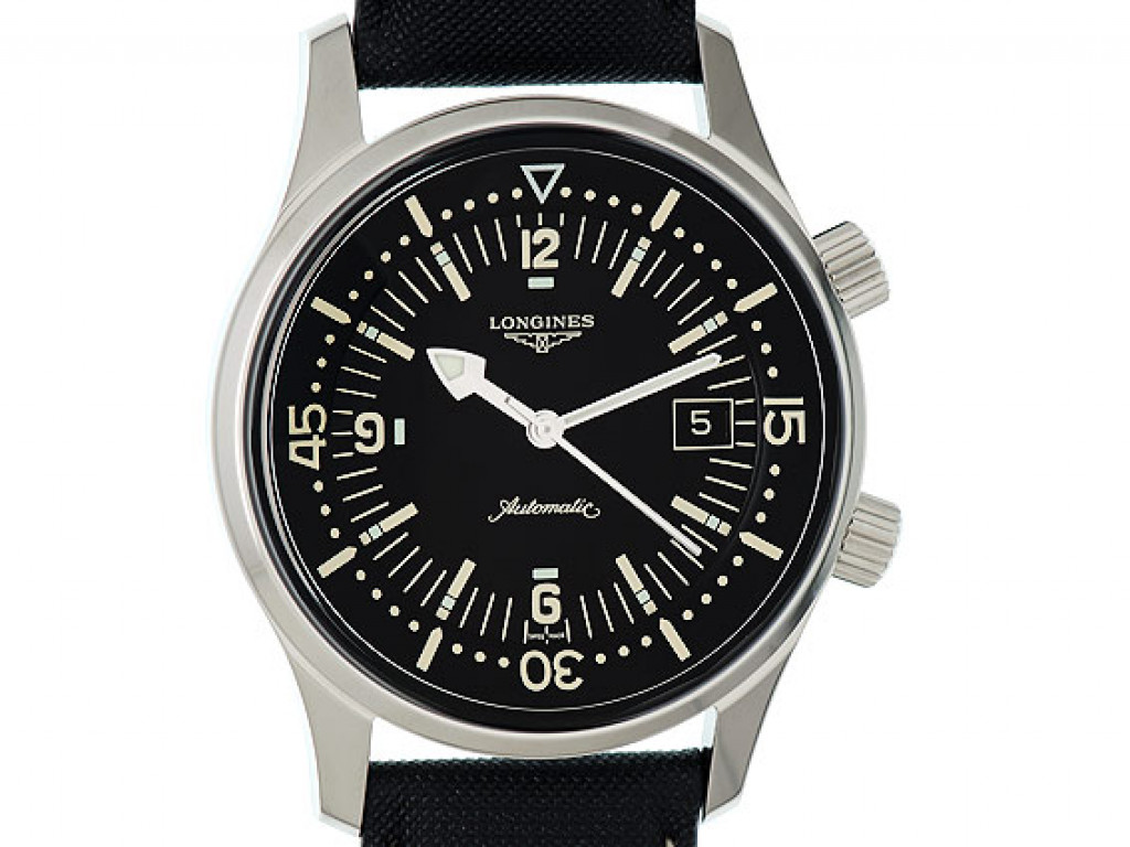 Longines Legend Diver Watch Stahl Automatik 42mm UVP 1.850,- Ungetragen