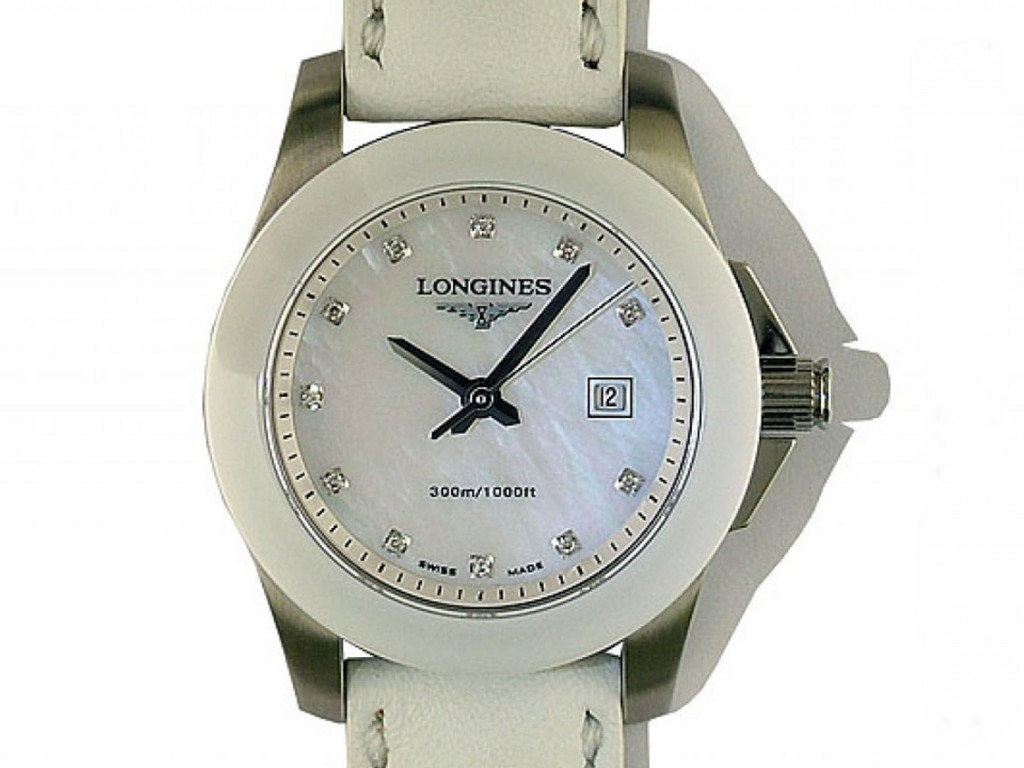 Longines Conquest Diamond 29mm UVP 1.250,- Ungetragen