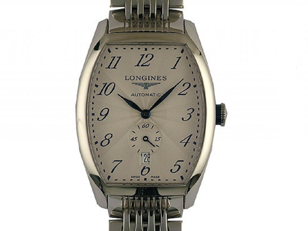 Longines Evidenza Automatic Date Small Second 46x31mm UVP 1.850,- Ungetragen
