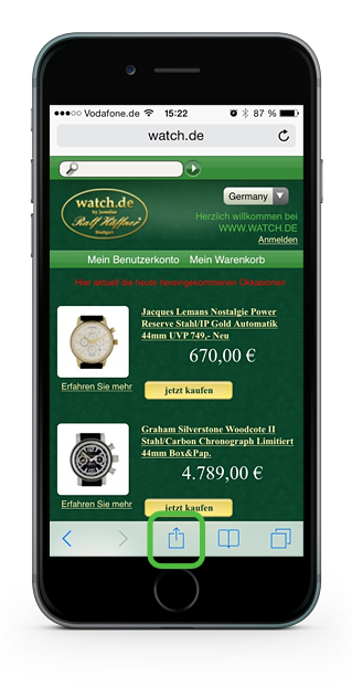 watch.de Webapp
