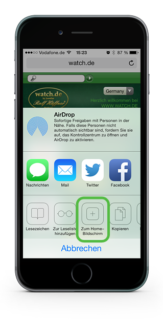 watch.de Webapp II