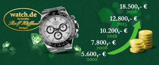 Uhren, Juwelen & Edelsteine als Kapitalanlage